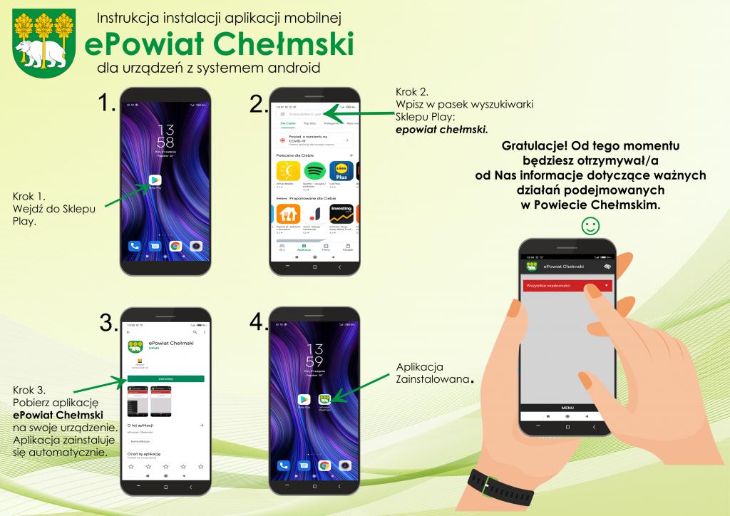 Instrukcja korzystania zaplikacji mobilnej epowiat chełmski