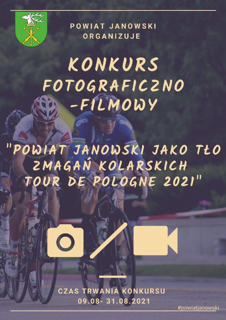 plakat konkursu fotograficzno-filmowego