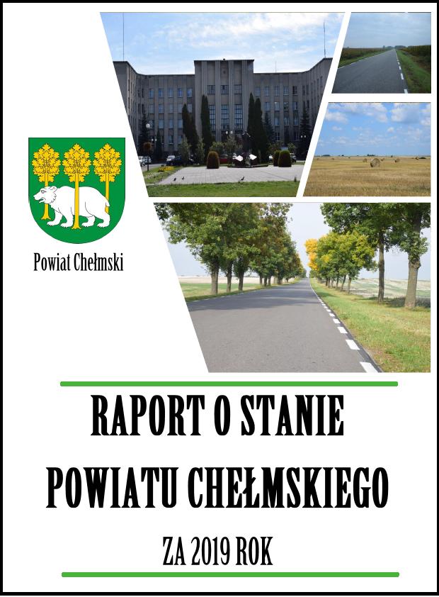 Okładka Raportu oStanie Powiatu Chełmskiego