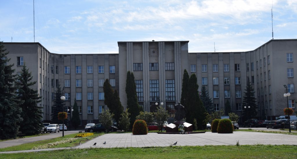 Fotografia siedziby Starostwa Powiatowego w Chełmie
