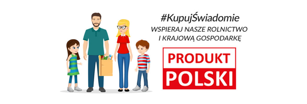 Baner kupuj świadomie produkt Polski