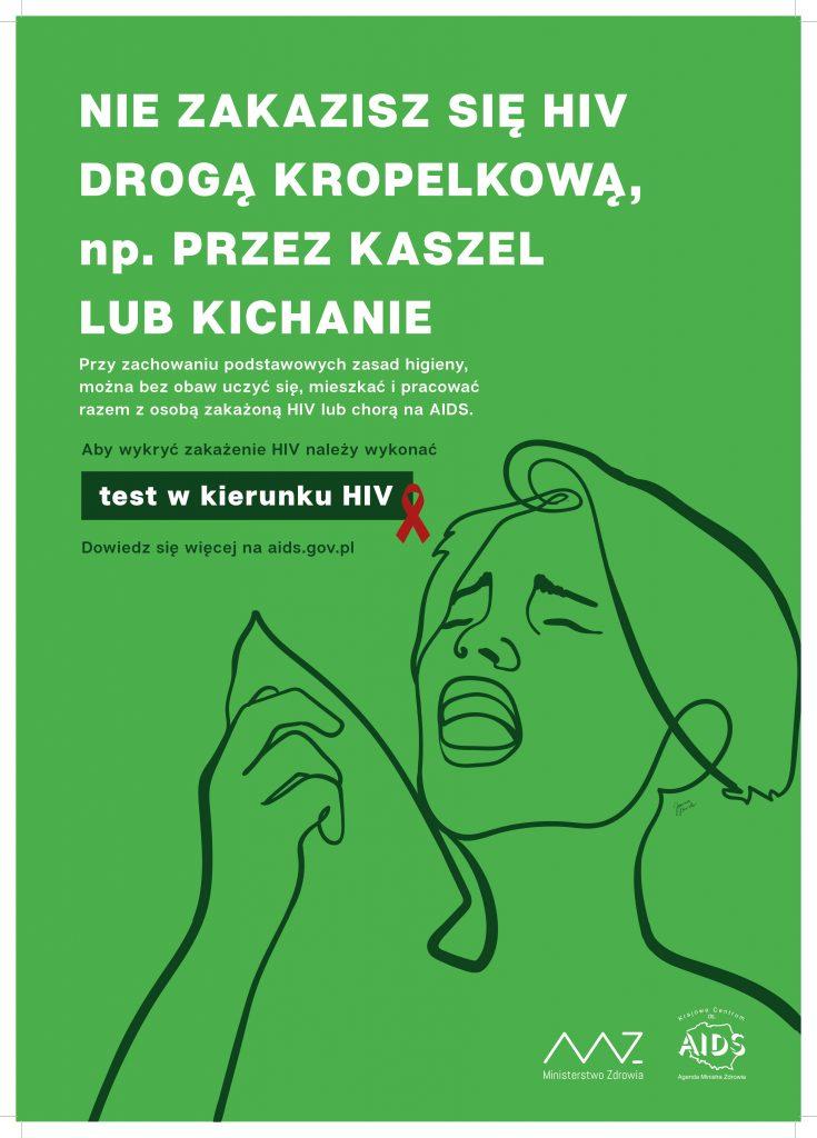 plakat okampani HIV/AIDS